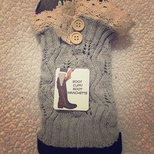 Chatties Accessories Crochet Boot Cuffs